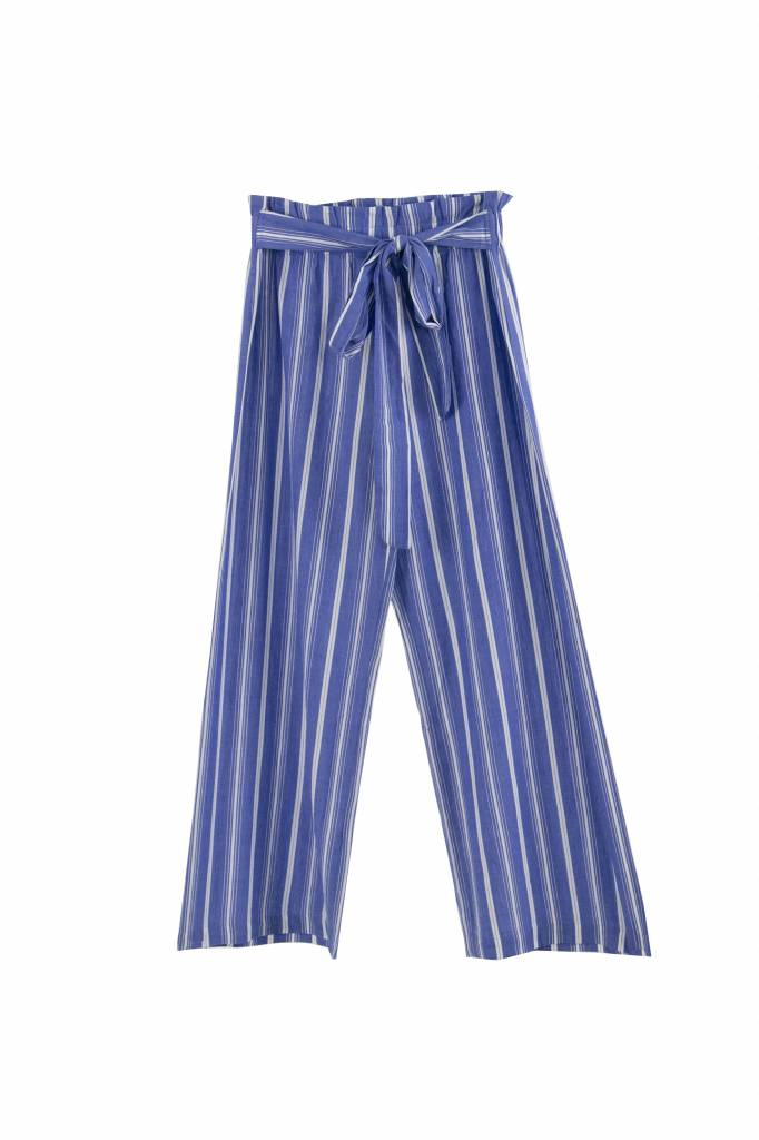 Vanessa Bruno Iyad pantalon blue white stripe