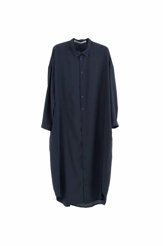 Monique van Heist 0+8 Long navy silk