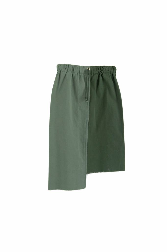 Stand Aloné Vintage army green skirt