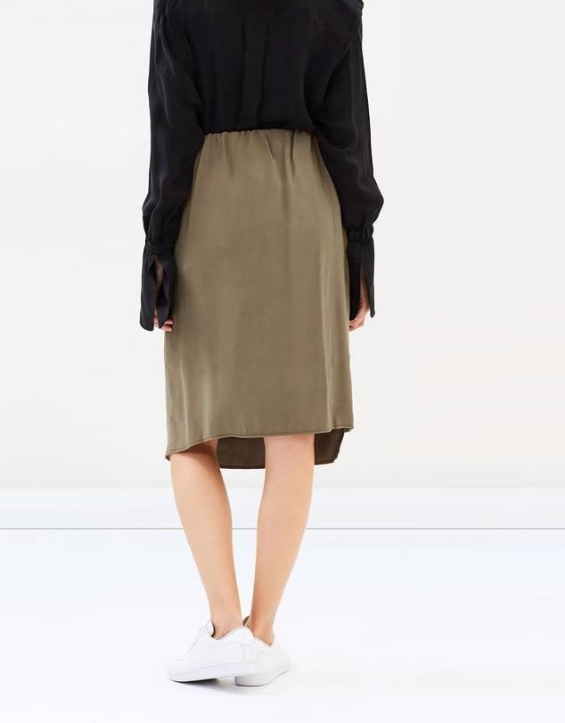Hanoi skirt green