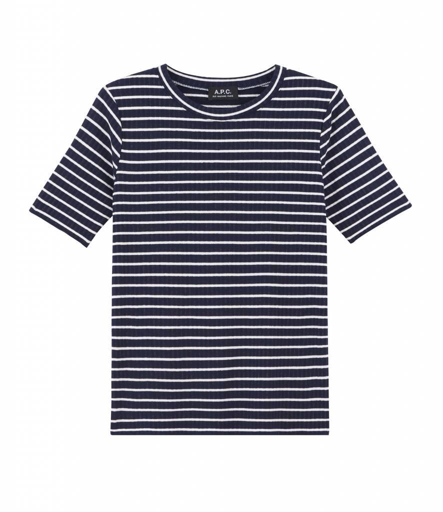 A.P.C. Catskill t-shirt blue white