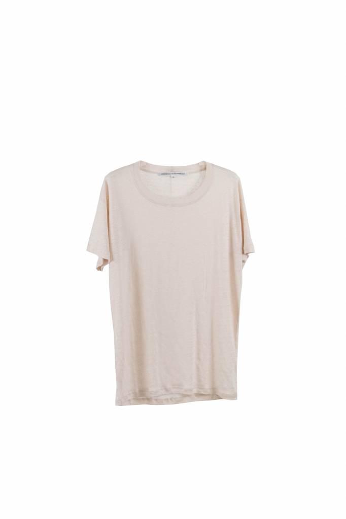 Monique van Heist Flirt S shortsleeve t-shirt rose linen