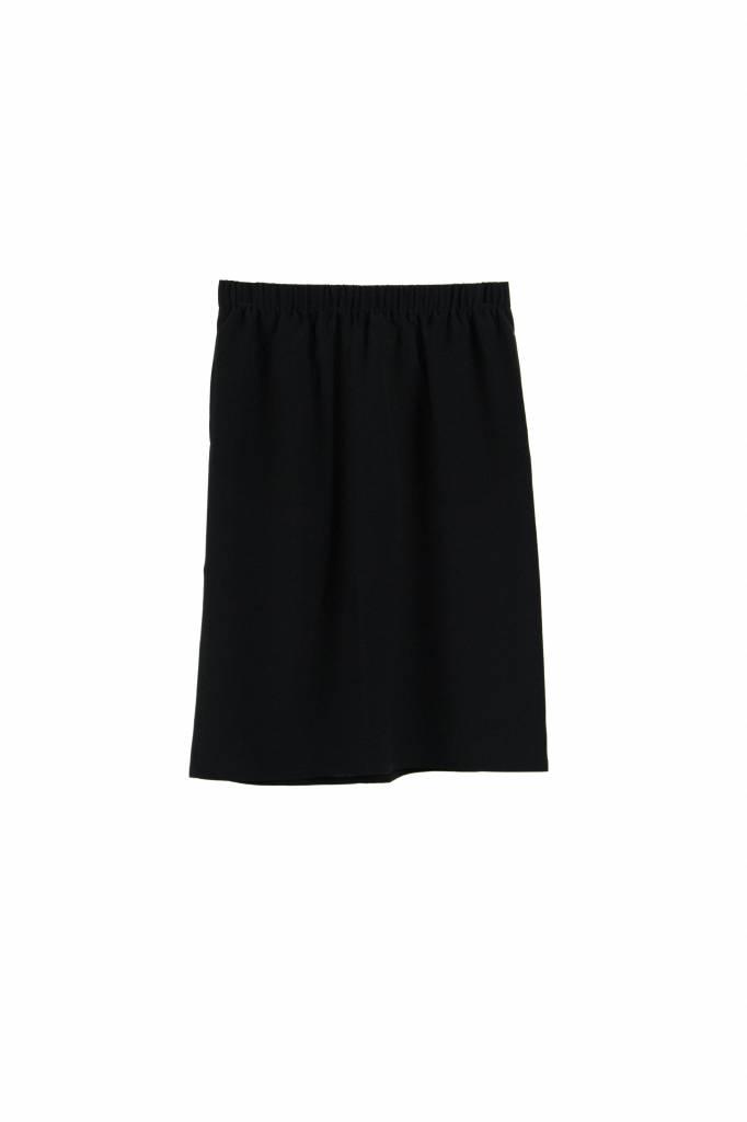 Monique van Heist Pencil skirt black silk