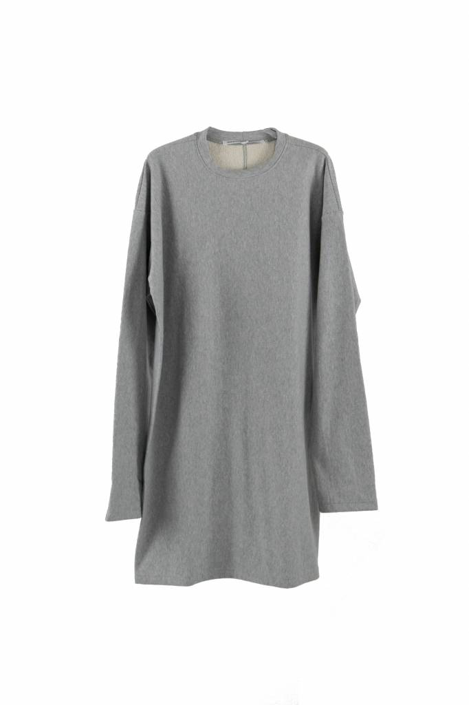 Monique van Heist LOL midi dress grey melee sweat