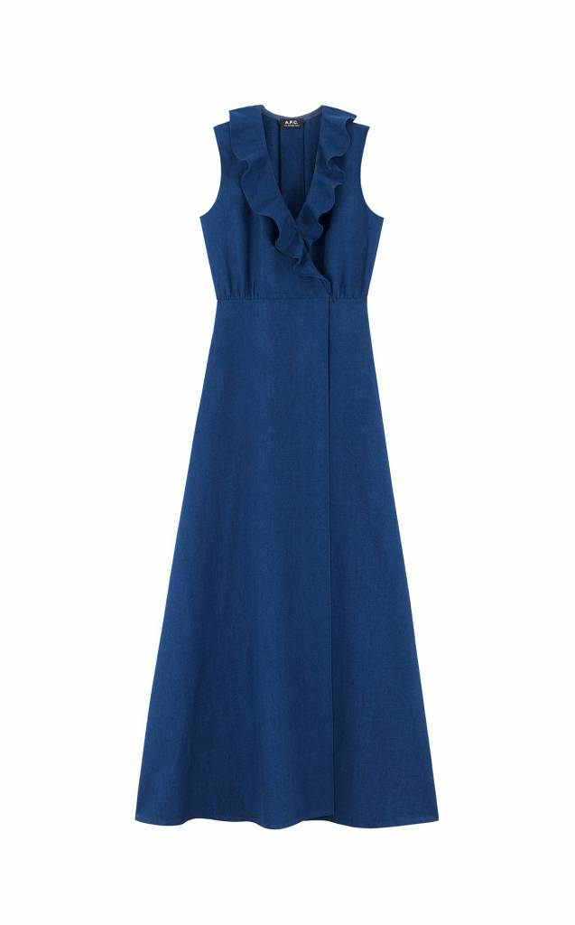 A.P.C. Ingrid dress indigo