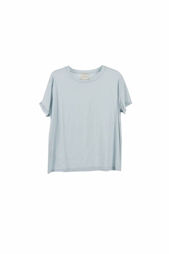 Fine Edge Basic t-shirt ballad blue