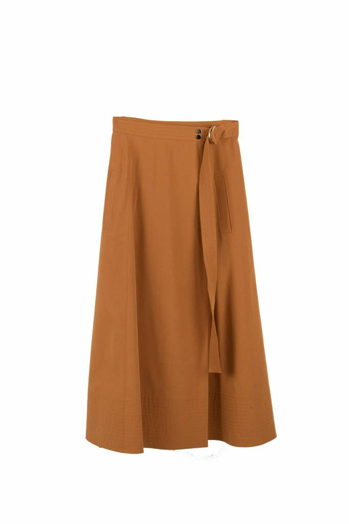 Vanessa Bruno Ikla skirt terracota