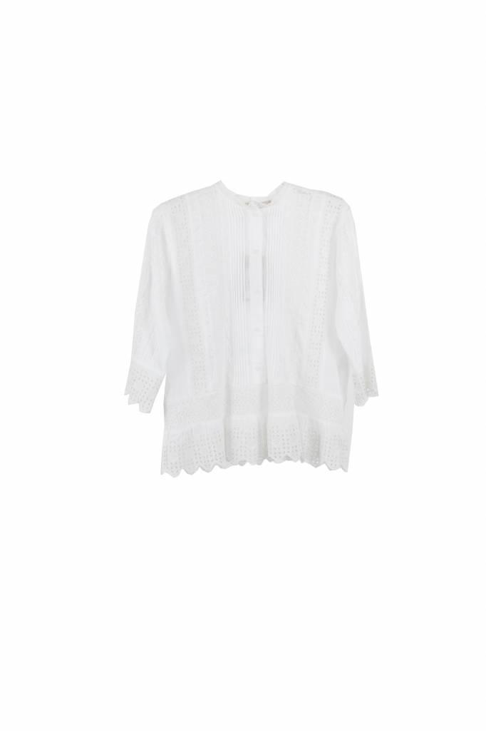 Vanessa Bruno Irais blouse ivory