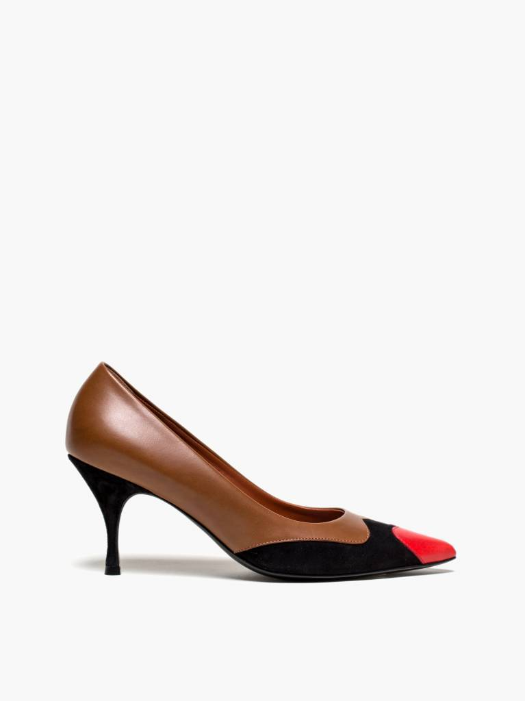 Michel Vivien Hermine pump red heart