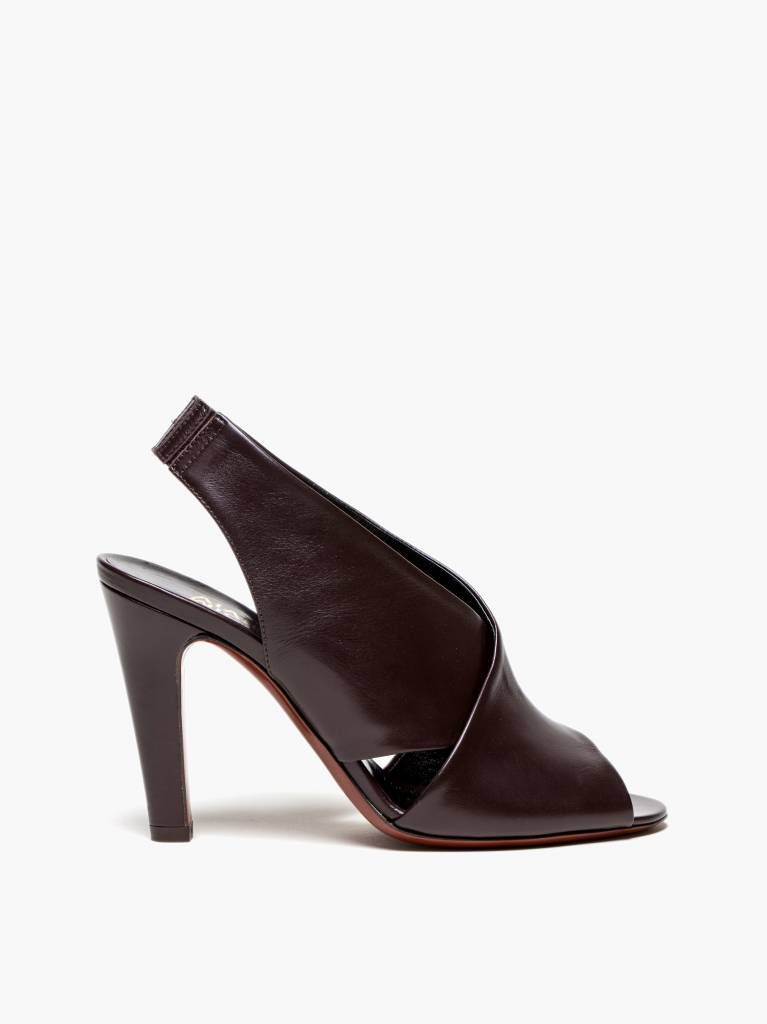 Michel Vivien Katrina slingback leather mules