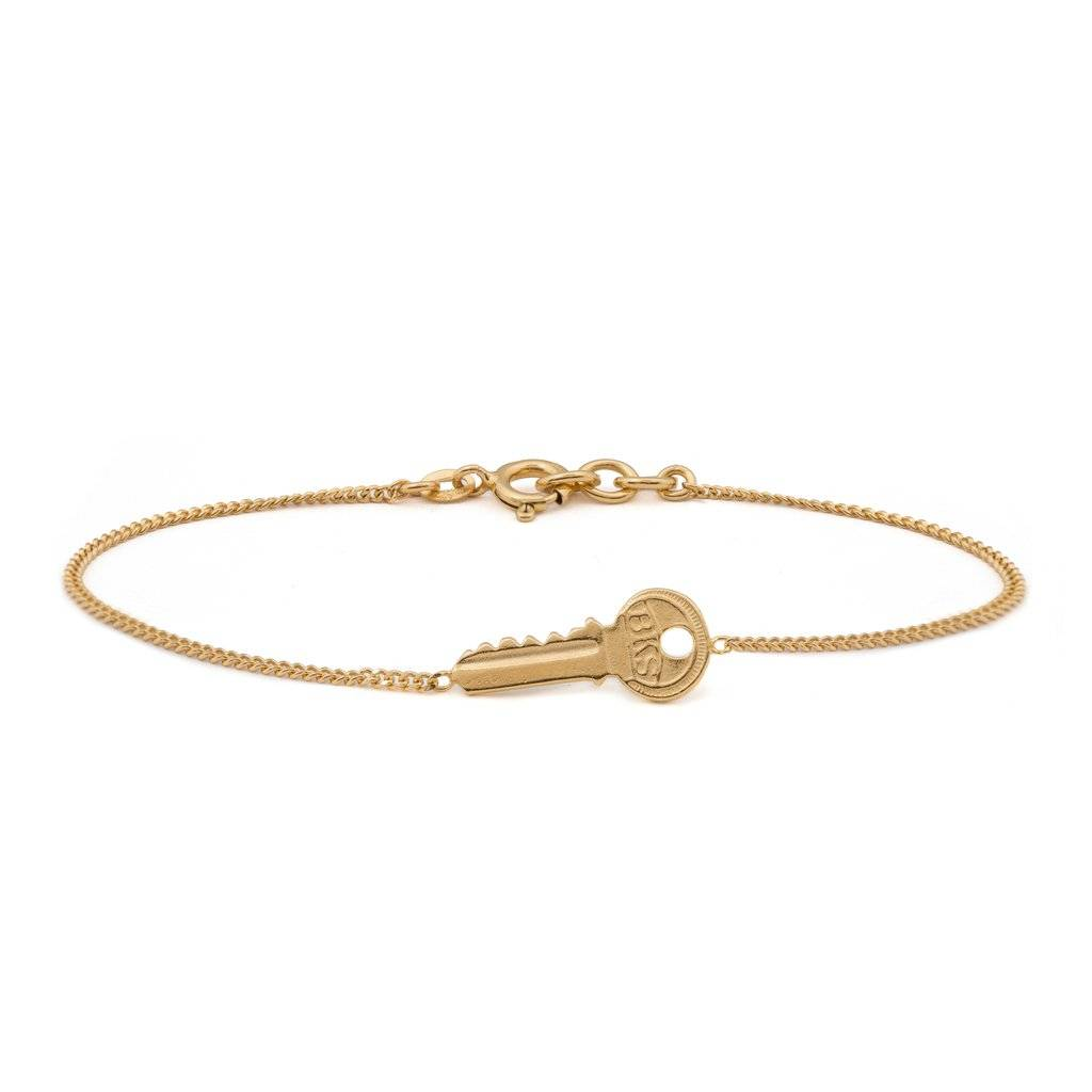 Wouters & Hendrix Delicate bracelet with key