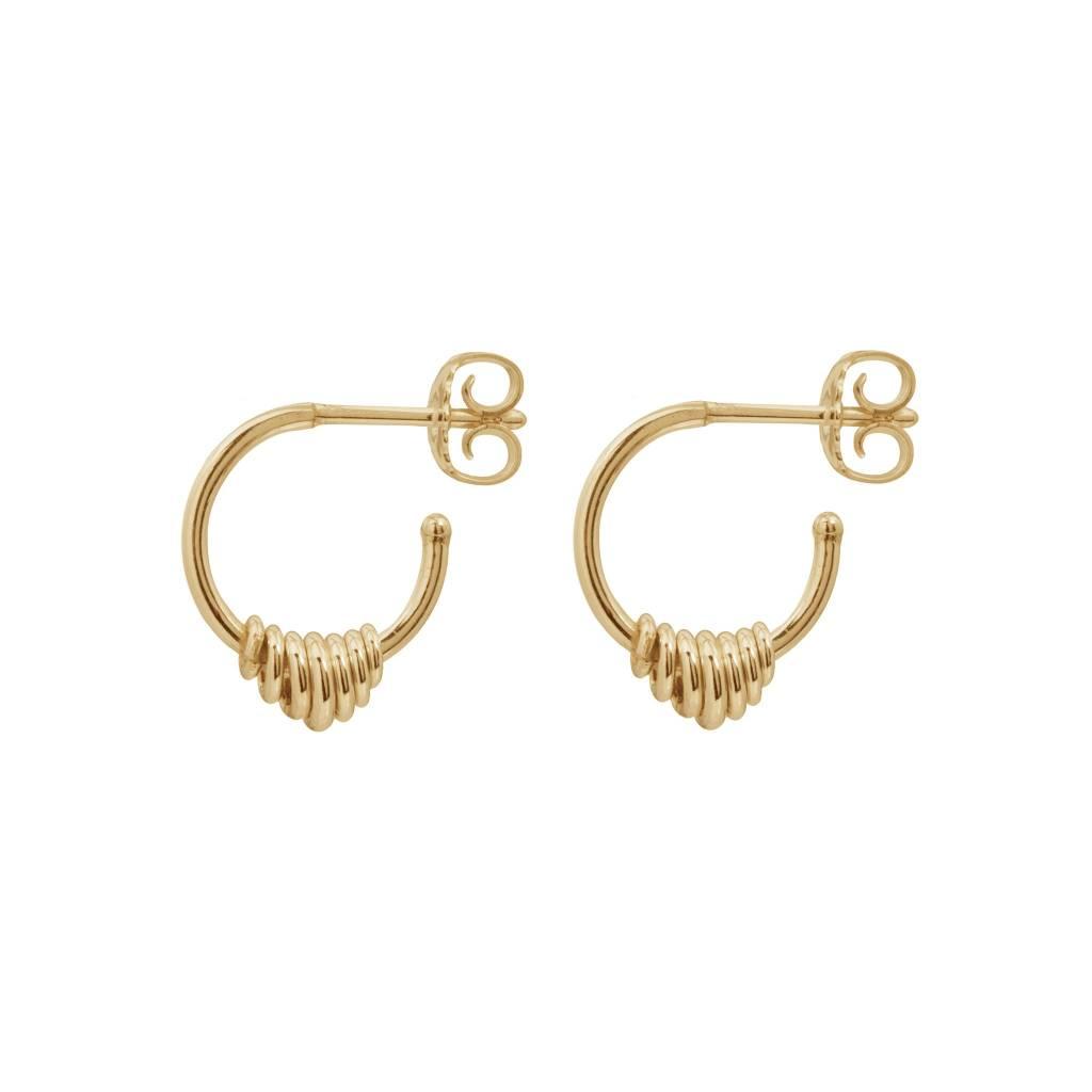 Wouters & Hendrix Hoop earrings with a series of hoops