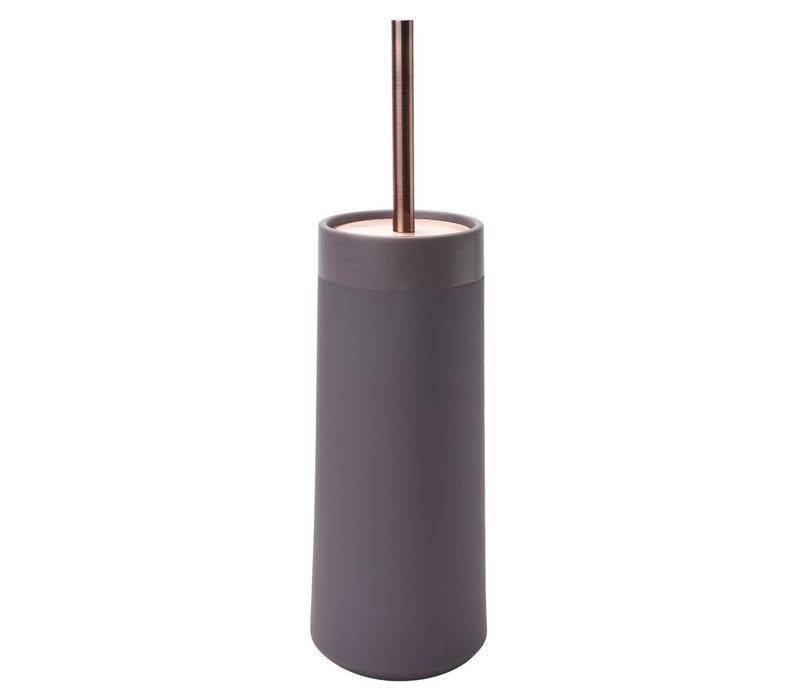 Opaco toiletborstelhouder mauve