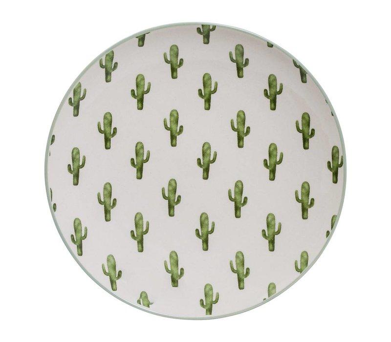 Jade bord, keramiek O20 cm