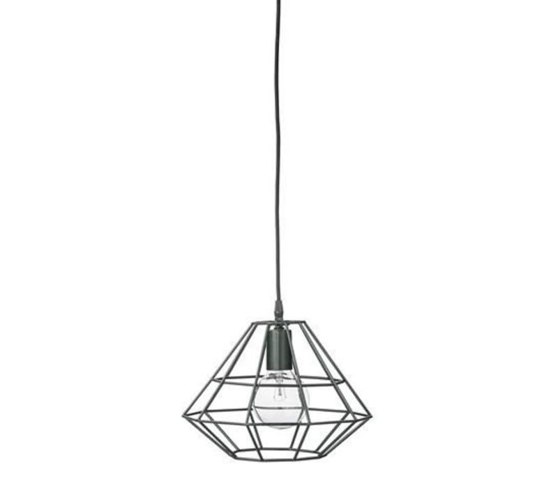Pernille hanglamp small donkergroen
