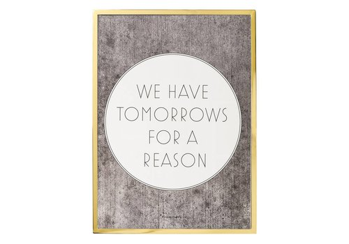 "Bloomingville Kader quote ""We have tomorrows..."