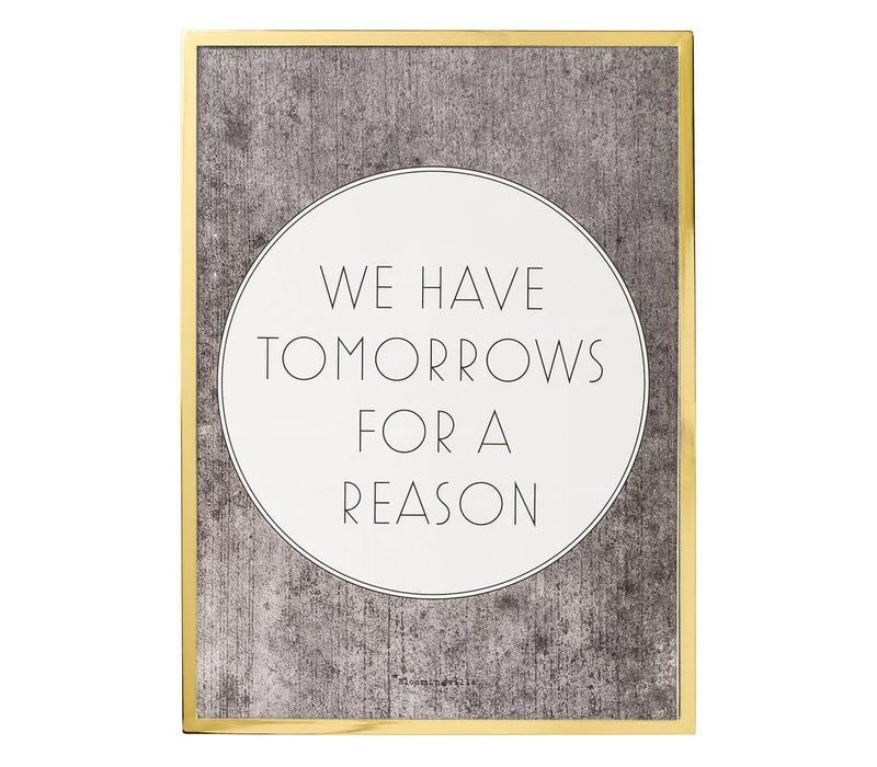 "Kader quote ""We have tomorrows..."