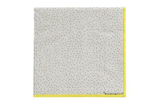 Bloomingville Papieren servetten - Carla