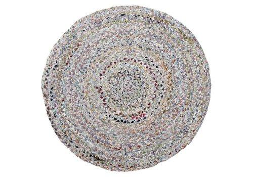 Bloomingville rond tapijt diverse kleuren