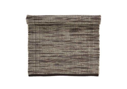 Bloomingville Tapijt wol bruin 120x65 cm