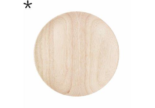 Bloomingville Houten bord rubberwood