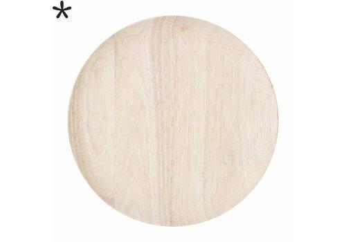 Bloomingville Houten onderzetbord rubberwood
