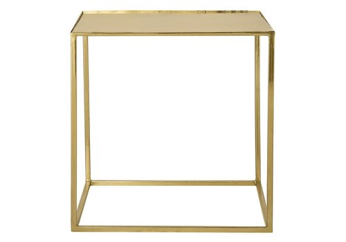 Bloomingville bijzettafel gold finish