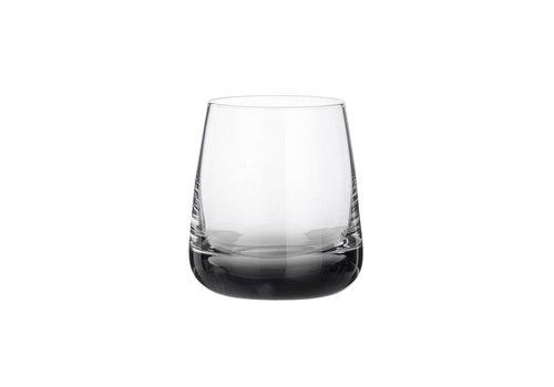 Broste Copenhagen Smoke waterglas doorzichtig/grijs