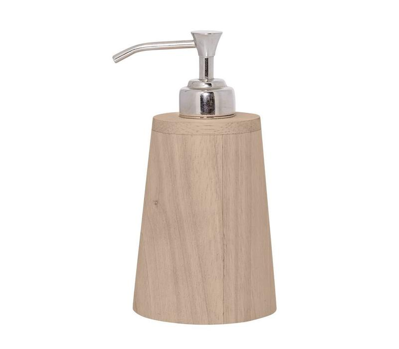 Zeepdispenser rubberwood