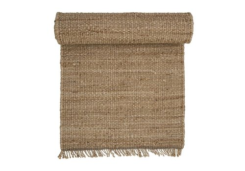 Bloomingville Tapijt hemp naturel 240x70 cm