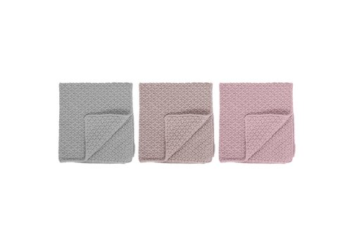 Bloomingville Katoenen vaatdoek multi-color pastel - set van 3