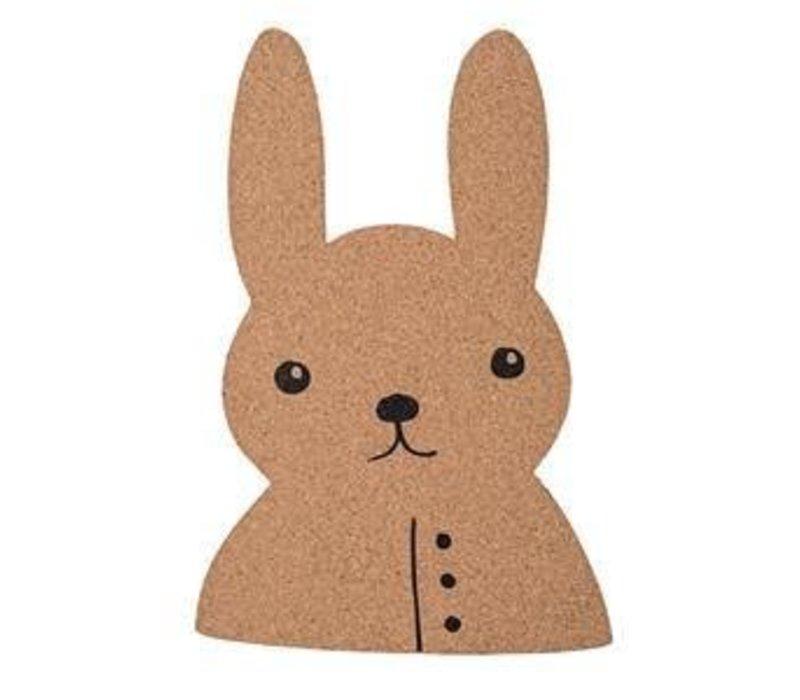 Prikbord kurk konijn