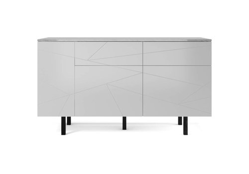 Bolia Save dressoir medium witte lak/marmer
