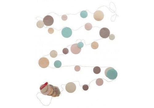 Engel. Vilten confetti slinger pastel