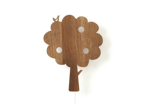 Ferm Living Tree wandlamp Eik