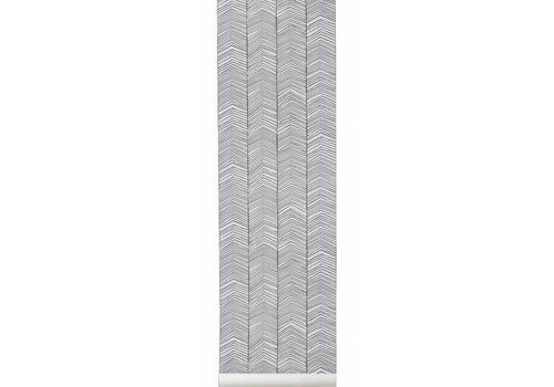 Ferm Living herringbone behangpapier