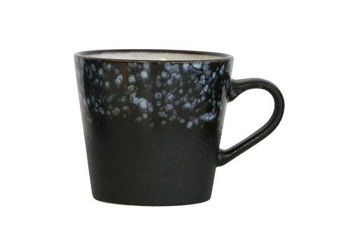 HK Living 70's cappuccino mok galaxy