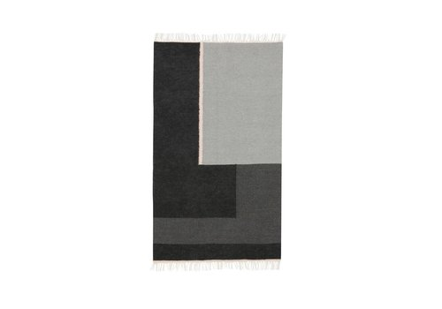 Ferm Living Kelim tapijt - Section - Small 80 x 140 cm