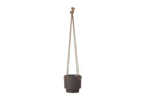 Ferm Living Hangende bloempot gres medium