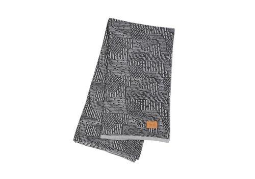 Ferm Living Maze deken grijs