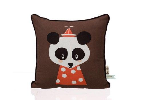 Ferm Living Posey Panda kussen