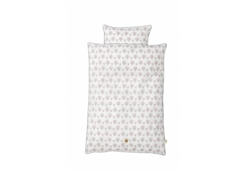 Ferm Living Dotty dekbedovertrek Rose