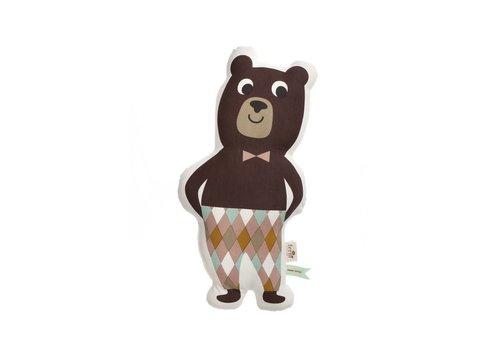 Ferm Living Mr. Bear kussen