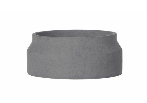 Ferm Living Bloempot - donker grijs