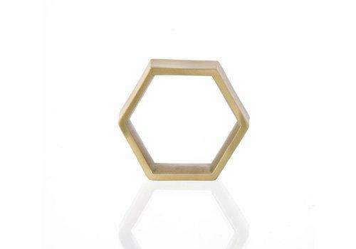 Ferm Living hexagon servetringen