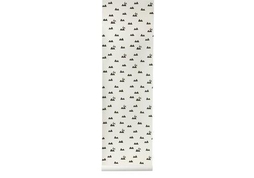 Ferm Living Rabbit behangpapier
