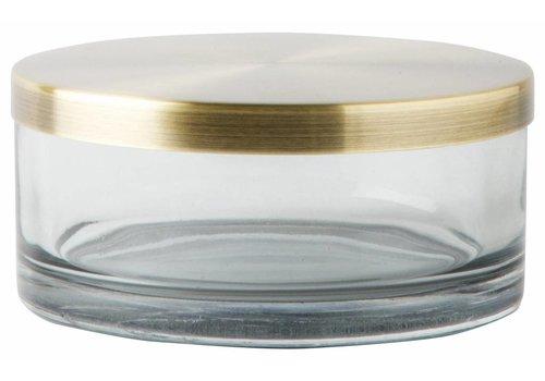 Mette Ditmer Glazen pot met deksel Venezia