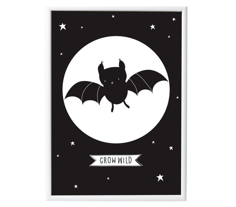 Poster vleermuis