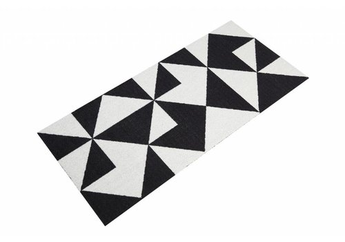 Mette Ditmer All-round mat black/white graphic