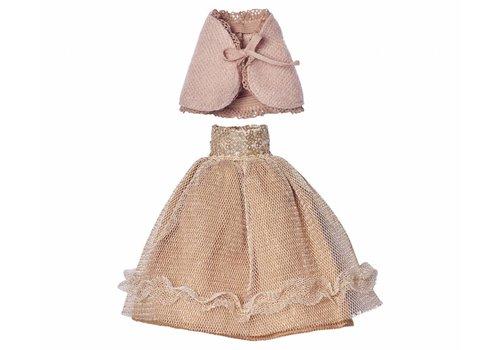 Maileg Mini konijn, princess kleed poeder